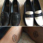 靴のお手入れ レザーソールでアーシング