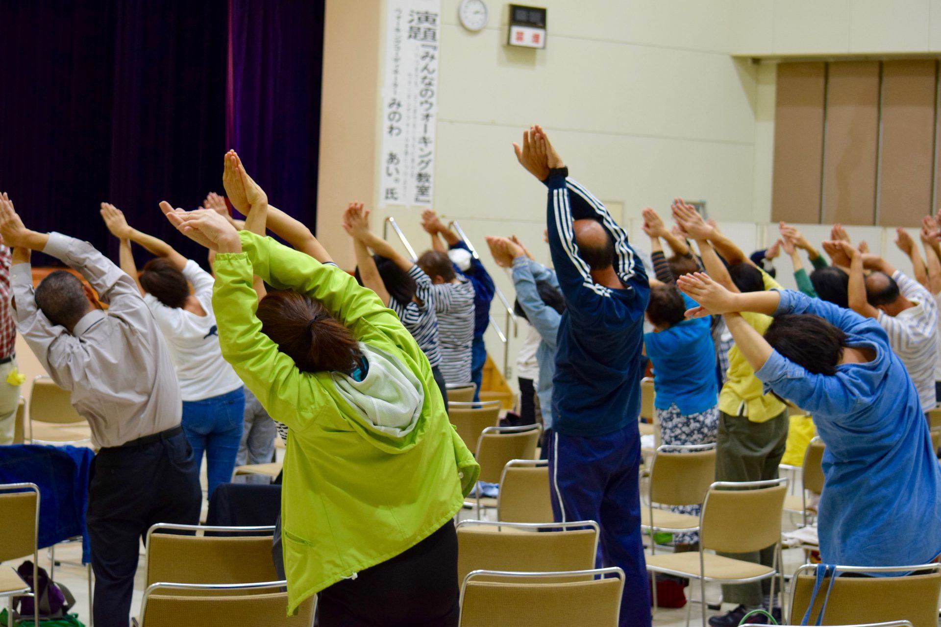 健康講座,生涯健康,健康寿命,介護予防,高齢者,姿勢,老化,アンチエイジング,歩く,歩き方,ウォーキング,自治体,健康づくり,健康セミナー,みのわあい,講師